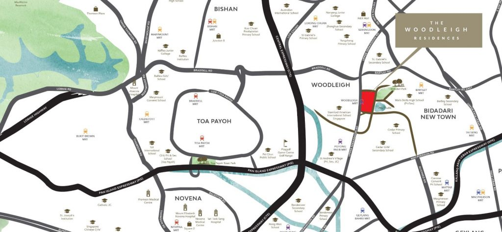 the-woodleigh-residences-condo-location-map-singapore