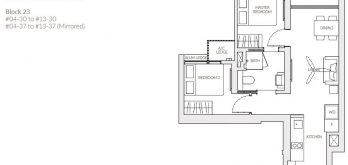 the-woodleigh-residences-floor-plan-2-bedroom-a1a-singapore