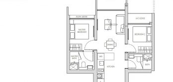 the-woodleigh-residences-floor-plan-2-bedroom-b1-singapore