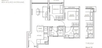 the-woodleigh-residences-floor-plan-2-bedroom-b2a-singapore