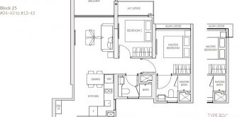 the-woodleigh-residences-floor-plan-2-bedroom-b2c-singapore