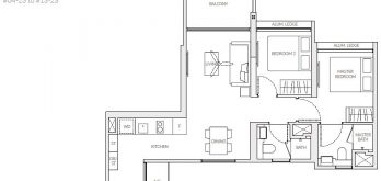 the-woodleigh-residences-floor-plan-2-bedroom-b4-singapore