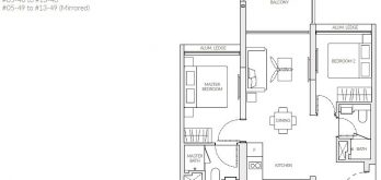 the-woodleigh-residences-floor-plan-2-bedroom-c1-singapore