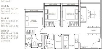 the-woodleigh-residences-floor-plan-3-bedroom-d2-singapore