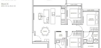 the-woodleigh-residences-floor-plan-3-bedroom-d3-singapore